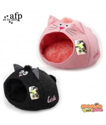 AFP Catzilla Meow Cat House Pink / Black