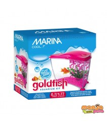 Marina Cool Pink Goldfish Kit, 6.7 L (1.77 US Gal.)