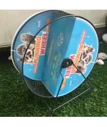 Metal Small Pet Tread Exercise Wheel 12.5 inch