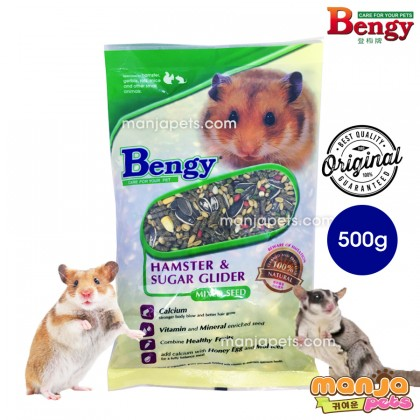 Bengy Mixed Seed for Hamster and Sugar Glider Other Small Animal 500g